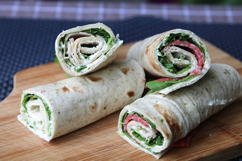Wrap Folie Keuken : Wrap met rucola en verse bieslook roomkaas de keuken van ursie